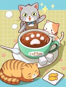 魔法猫咪咖啡屋