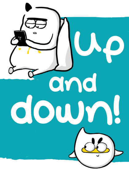 闲白儿up and down!